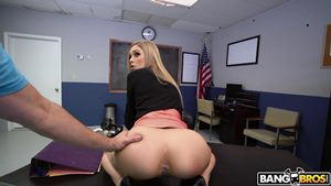 Gozando dentro da atriz porno